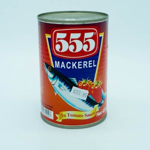 555 Mackerel In Tomato...
