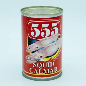 555 Squid W/ Chili 155g