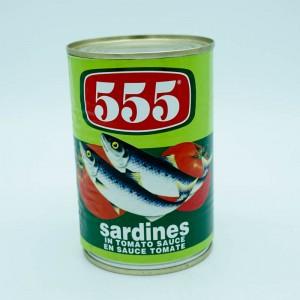 555 Sardines In Tomato...