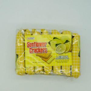 Sunflower Crackers Lemon 189g