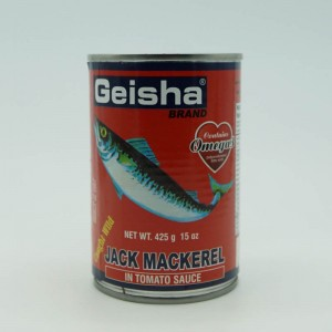 Geisha Mackerel In Tomato...
