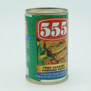 555 Fried Sardines In Soya...
