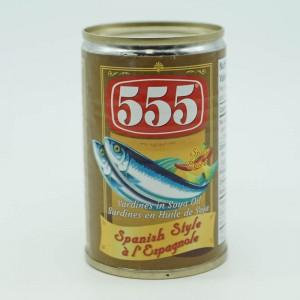555 Spicy Spanish Style 155g