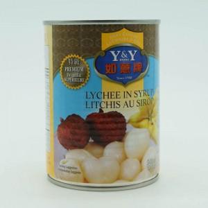 Y & Y Lychee In Syrup 540ml