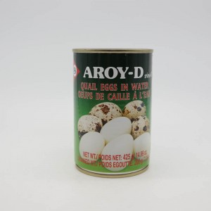 Aroy- D Quail Egg In Can 425g