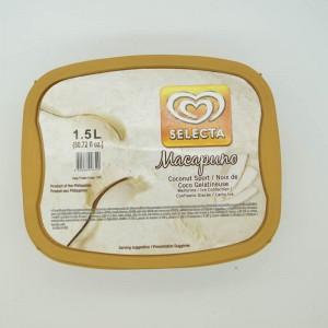 Selecta Cream Macapuno 1.5l
