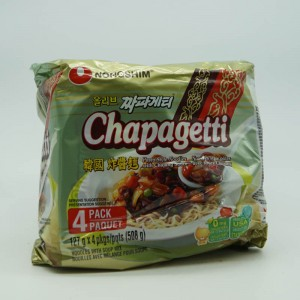 NONGSHIM CHAPAGETTI 4 X 127G