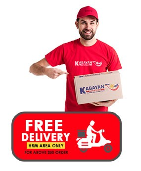 Free Delivery for above $50 order